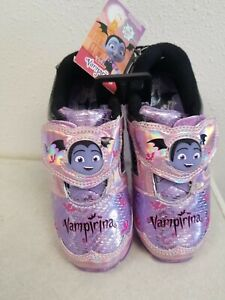 Little Girls Vampirina Light Up Shoes Sizes 7 8 9 10 11 12 Brand New with Tags