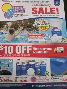 IN THE SWIM CATALOG SPRING 2019 DISCOUNT POOL SUPPLIES amp; EQUIPMENT BRAND NEW $9.99