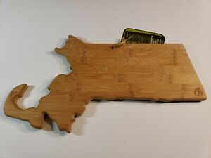 Totally Bamboo Massachesetts Cutting & Serving Board New State - G