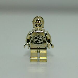 LEGO STAR WARS CHROME GOLD C-3PO 4521221 1 OF 10000 LIMITED EDITION RARE
