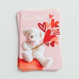 Valentine's Day - Know What? - 8 Notecards