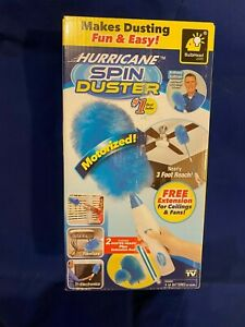 Spin Duster Motorized As Seen On TV 2 Duster Heads
