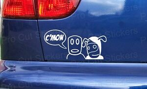 CMON C'MON Moo Gang Car Stickers Decals Small - Large Sizes Vauxhall Corsa ref:2