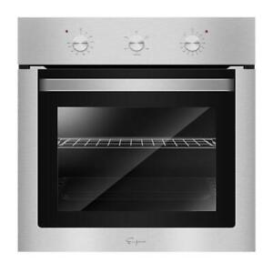 24 In. 2.3 Cu. Ft. Single Electric Wall Oven With Economy 4 Cooking Functions In