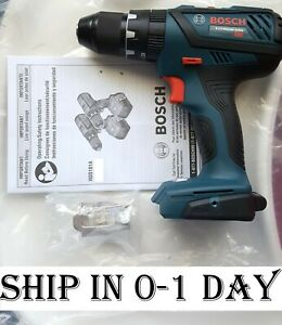 NoBox New Bosch Bare Tool HDS181A 18V 1 2quot; Cordless Hammer Drill Driver Compact $65.99