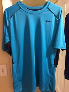 Nike Dry Fit Shirt Large Teal $15.00