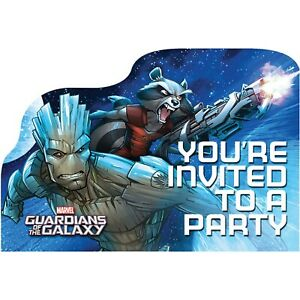 New Guardians of the Galaxy Birthday Party Supplies Tableware & Decorations