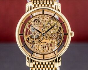 Patek Philippe 51801R-001 Ultra Thin Skeleton 5180 18K Rose Gold  Bracelet