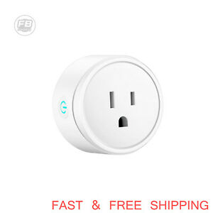 Smart WiFi Plug Socket Remote Voice Control Timing Google Home Alexa Outlet