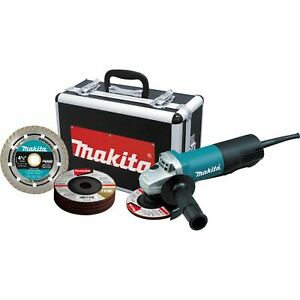 Makita 9557PBX1 4 1 2quot; Paddle Switch Cut Off Angle Grinder $77.99