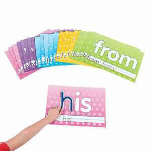 Sight Word Learning Mats - Educational - 25 Pieces
