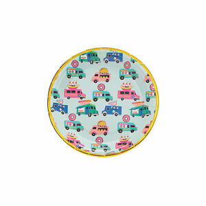 Food Truck Party Dessert Plate - 8 Pieces