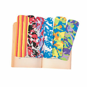 Funky Bookmarks Stationery 72 Pieces $14.99