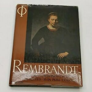 Rembrandt PaintingsDrawingsEtchings 128 Plates Phaidon Book 1960 $11.00