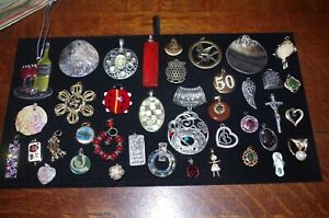 NECKLACE PENDANTS...LOT OF 40