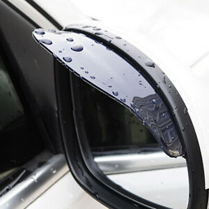 2x Car Rear View Side Mirror Rain Board Eyebrow Guard Sun Visor Car Accessories