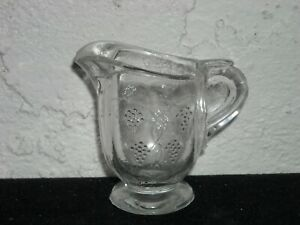 Grapevine with Ovals Children#x27;s Toy Creamer Crystal $45.00