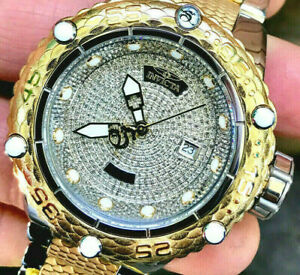 Invicta Men New Subaqua Noma VI Swiss Made Automatic 1.81ctw Pave Diamonds Watch