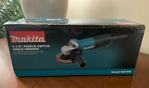MAKITA 9557PB 4‑1 2quot; Paddle Switch ANGLE GRINDER BRAND NEW in box $69.99