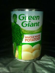 Potatoes 16 cans Green Giant   Can vegetables