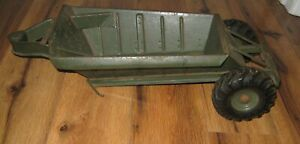 DOEPKE Pressed Steel Model EUCLID Pioneer Bottom Dump TRAILER ONLY Green Rare