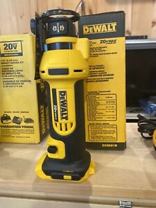 Sealed DeWALT DCS551B 20V Max Li-ion Rotary Drywall Cordless Cut-Out Tool router
