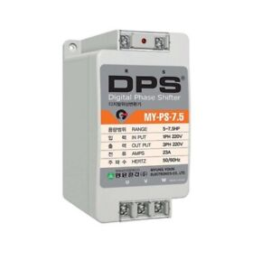 Digital Phase Shifter MY PS 7.5 23A 7.5HP Drive 3 Phase motor with 1 Phase 220V $299.00
