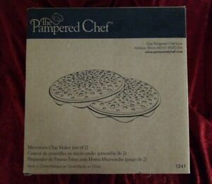 Pampered Chef Microwave Chip Maker #1241 Brand New In Box $10.00