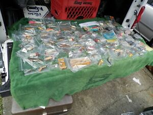 AntiqueVintage Wood Fishing Lures Lot Of 74 Plus KnivesHooksLine Estate Find