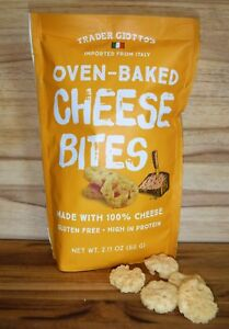 6 Pack Trader Joes Oven Baked Cheese Bites 100% Cheese Trader Giottos Joes Lot