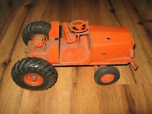 Vtg Rare 1950's Doepke Euclid Pioneer Model Toy Bottom Dump Truck Tractor Only