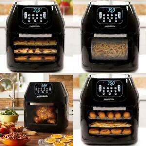 Air Fryer Oven Plus Black Power 6 Quart Chicken Bake Roast Fry Grill Air Fryer
