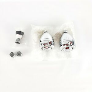Niagara Earth Massage Shower Heads (2) Faucet Aerators(2) and Kitchen Sink Pause