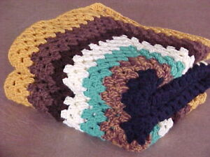 JUST COMPLETED! BRAND NEW HOME MADE HAND CROCHET AFGHAN BLANKET 50
