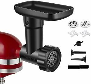 Food Meat Grind Attachment for KitchenAid Stand Mixer- Included 2 Sausage Filler