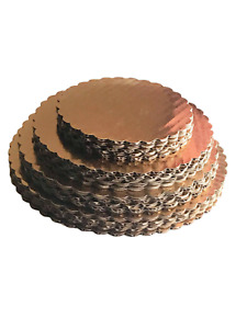 20 Gold Cake Circles 6, 8, 9 10 inches (5 of each size) Round Boards Made in USA