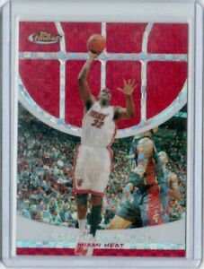 2005 06 FINEST RED XFRACTOR #1 SHAQUILLE ONEAL #ED 049 139 $150.00