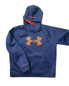 Under Armour X Storm boys Pullover Hoodie Sweatshirt YOUTH XL blue $20.00