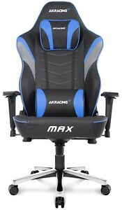 AKRACING Master Series Max Gaming Chair With Wide Flat Seat