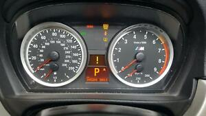 BMW BMW M3 Speedometer (cluster) MPH 7 speed (AT dual clutch transmission)