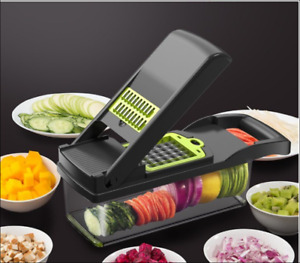 Multi Functional Vegetable Onion Food Chopper Heavy Duty Cutter Slicer Dicer