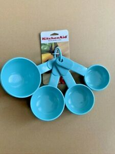 KitchenAid Set of 4 Measuring Cups 1/4, 1/3, 1/2 and 1-cup Multi-Color NWT