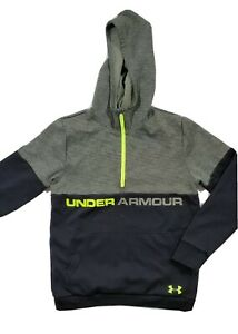 Under Armour boys Youth XL YXL Hoodie Pullover Half Zip multicolored $20.00