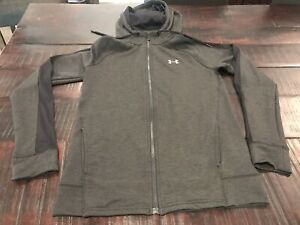 Womens Under Armour Hoodie, Charcoal Grey, Size Small $16.00