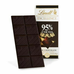 Lindt Excellence 95% Dark Chocolate Bar