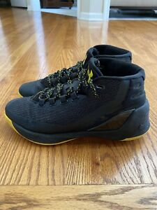 New Under Armour UA Stephen Curry 3 Mens Mid Top Basketball Shoes $35.00