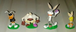 Vintage Applause Looney Tunes Easter Figures WB Taz Daffy Bugs Tweety Bird