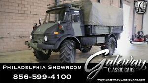 1975 Mercedes-Benz UNIMOG  Camo 1975 Mercedes-Benz UNIMOG 352 CID Camo Military Truck  352CID 6 Cylinder 8