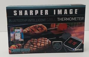 NEW! Sharper Image Bluetooth Intelligent Grill Thermometer