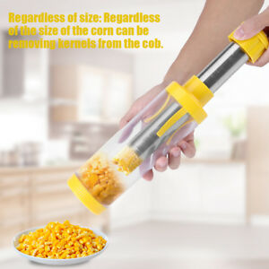 Simple Operation Corn Cob Remover Stripper Peeler Thresher Cutter Tools Kitchen